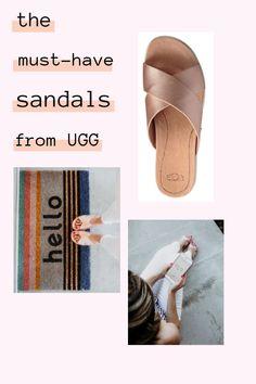 198f508feb42 Rose Gold Slides from Ugg • The Naptime Reviewer Ugg Sandals