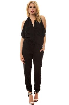 Sweet-Tempered Oeak Women Casual Jumpsuits Summer Solid Wide Leg Loose Jumpsuit With Pocket Rompers Sexy Lady Playsuits Choice Materials Women's Clothing