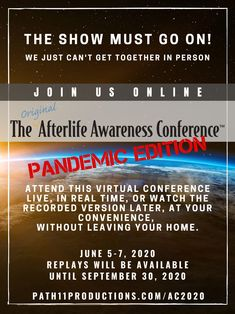 10 Best Afterlife Awareness Conference Images In 2020 Afterlife Awareness Conference