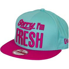New Era 9FIFTY Snapback Cap Sorry I`m Fresh teal/beetroot ★★★★★