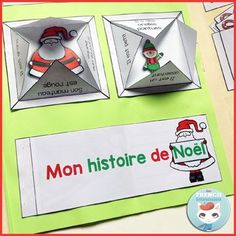 French Christmas Lapbook: fun, interactive foldable activities for lapbooks and notebooks. Great holiday activity for your French classroom! French Teaching Resources, Teaching French, Teaching English, Languages Online, Foreign Languages, Holiday Activities, Craft Activities, French Christmas, Christmas Crafts