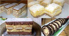 Nyolc olyan receptet mutatunk, amit biztos nem süt a szomszéd! Sweet Cookies, Vanilla Cake, Tiramisu, Cheese, Ethnic Recipes, Food, Recipies, Essen, Meals