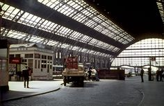 Central Station, Manchester, mid-1960s | Flickr - Photo Sharing!