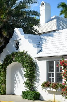 Designed by Architect Howard Worth, this little group of attached residences were inspired by Bermuda architecture.