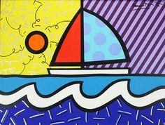 Romero Britto - WikiPaintings.org- florida
