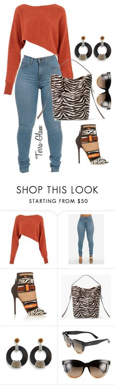 """""""Fall Frenzy"""" by terra-glam ❤ liked on Polyvore featuring Crea Concept, Brian Atwood, MANGO, Hissia and Valentino"""