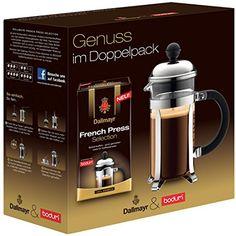 http://ift.tt/1IavDR4 Dallmayr Bodum Chambord Kaffeebereiter (3 Tassen) und French Press Selection (250g) 1er Pack @Checkingooo%%