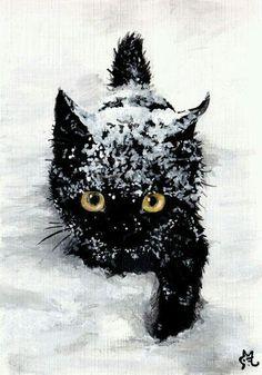 Jugar en la nieve, es lo más!