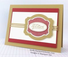Oh My Goodies, Stampin' Up!, Brian King, PPA230