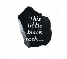 """The Minerals Council of Australia's recent coal adverts, extolling the virtues of the """"little black rock"""""""