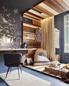Acha parede lousa o que há de mais bacanudo na decor? Então chega aê que no blog tem um monte de inspirações massa pra você: homensdacasa.net