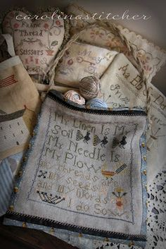 Carolina Stitcher: Finishing Friday......