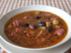 Polievka z veľkej strakatej fazule • Recept | svetvomne.sk
