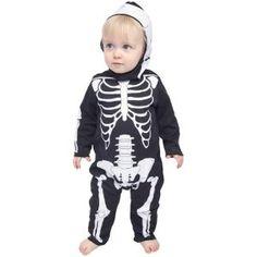 Infant Baby Skeleton Halloween Costume