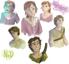 Epic - MK and Nod sketches by candlehat on deviantART