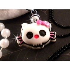Hello Kitty Zombie Charm Necklace $14.95 from store.inkedmag.com