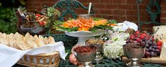 Spring Ladies Special Event Luncheon Vegan Sample Catering Menu Charlottesville