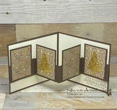 Card Making Templates, Card Making Tips, Card Making Tutorials, Card Making Techniques, Making Ideas, Making Cards, Card Making Inspiration, Fun Fold Cards, Folded Cards