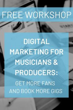 Looking for new wasys to market yourself and your music? Join our free digital marketing course for musicians and get your music into new hands and ears! Music Guitar, Music Songs, Music Videos, E-mail Marketing, Digital Marketing, Singing Tips, Music Promotion, Music Lessons, Music Education