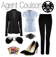 Avengers Assemble Outfits - Agent Coulson