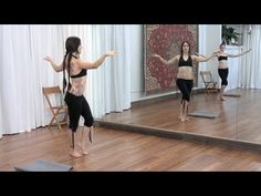 Zoe Jakes Belly Dance Flow Drills on Datura Online