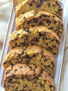 Chocolate chip banana bread, Pumpkin chocolate chips and Peanut butter ...