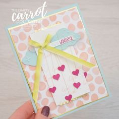 It's Raining love - Crafty Carrot Blog Hop