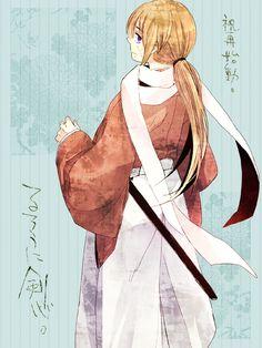 Kenshin. キネマ版、個人的には面白かったです。どう展開していくか楽しみ。