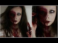 Bloody Eye Halloween Make up
