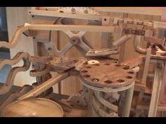Mikes Marble Machine - YouTube