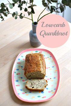 Low Carb Brot mit Quark. LoGI-tauglich.