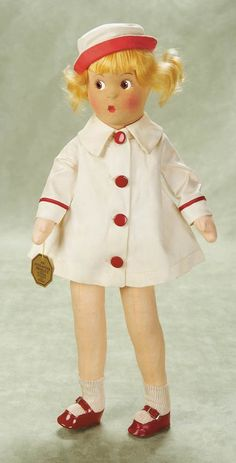 Rare American Cloth Doll by Alexander