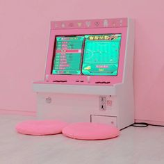 Find images and videos about pink, aesthetic and soft on We Heart It - the app to get lost in what you love. Cute Pink, Pretty In Pink, Pastel Pink, Pink Purple, Tout Rose, Kawaii Room, Gamer Room, Everything Pink, Pink Walls