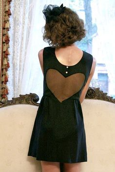 If I Only Had a VELVET Heart Dres