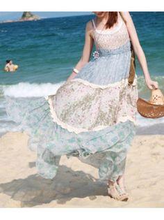Boho Maxi Beach Dres