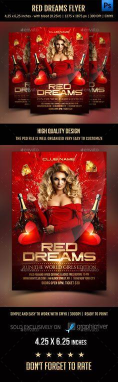 Red Dreams Flyer