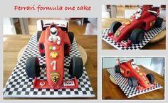Ferrari formula 1 cake  Cake by Arilena