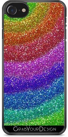 GrabYourDesign - Case for Samsung Galaxy Alpha Glitters Rainbow - by Samsung Galaxy Alpha, Galaxy S2, Cool Iphone Cases, Glitters, Iphone 7, Rainbow, Rain Bow, Rainbows, Iphone Seven