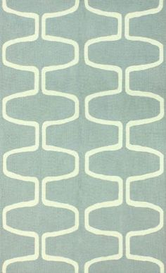 Amazing sale on this Homespun Trellis Aqua Rug 5x8' $142