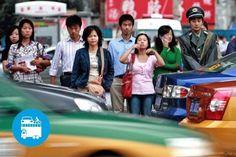 """Un mix di mini telecamere """"intelligenti"""" e software di riconoscimento facciale, permetteranno alla polizia stradale cinese di sanzionare ed esporre al pubblico ludibrio, tutti i trasgressori del Codice della Strada in tempo reale o quasi!..."""