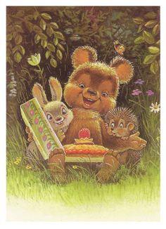 """Иллюстрация № 2 к сувениру """"В гостях у сказки. Набор открыток"""", фотография, изображение, картинка"""