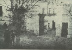 The courtyard gate of the Ipatiev House in which the Romanov family was murdered in 1918
