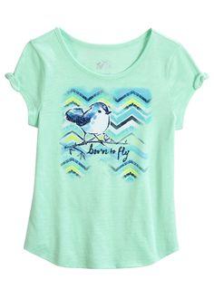 28faf3898146 Tie Sleeve Graphic Top - MOOS · Tween FashionGirl ...
