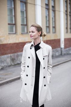 Trench Coats, Ootd, Casual, Jackets, Fashion, Down Jackets, Moda, Fashion Styles, Fashion Illustrations