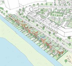 Start verkoop zelfbouw kavels Uiver Deelplan 20 Ypenburg Den Haag #zelfbouw #architect Map, The Hague, Cards, Maps