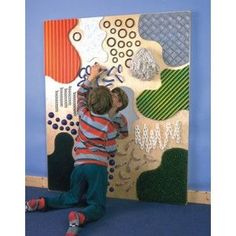 TFH USA Special Needs Toys - Textured Wall Sensory Wall, Sensory Rooms, Autism Sensory, Sensory Boards, Sensory Activities, Activities For Kids, Special Needs Toys, Sensory Therapy, Toddler Classroom