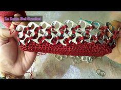 Wholesale Handbags Can Save You Money But Pop Top Crafts, Pop Tab Purse, Pop Can Tabs, Purse Tutorial, Beaded Crafts, Craft Bags, Wholesale Handbags, Crochet Purses, Bead Crochet