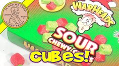 WarHeads Sour Chewy Cubes Limited Edition Christmas Flavors #WarHeadsCandy #WarheadsChewyCubes #ChristmasCandy