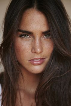 Cecilie...love the freckles