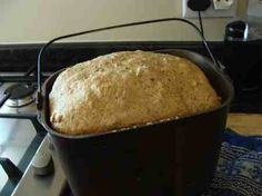 Low GI bread takes less than five minutes of your time using a basic machine.